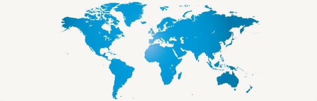 AvaTrade's trading websites around the world