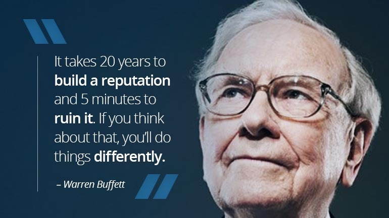 Warren Buffett's Risk Taking Experience