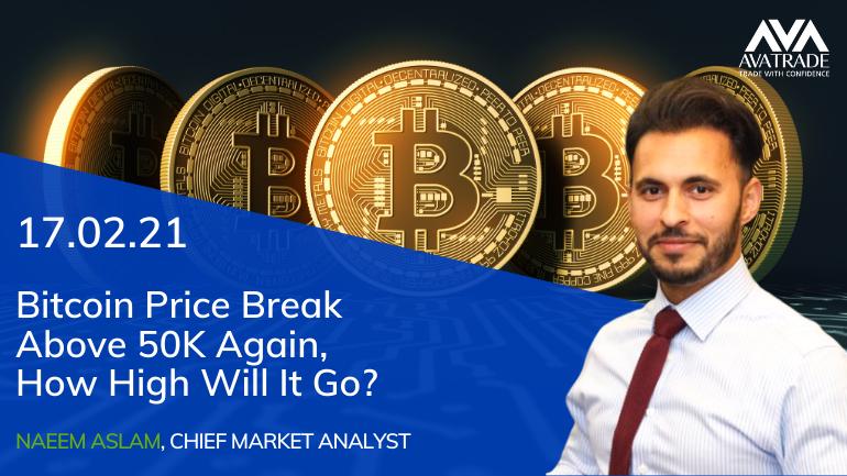 Bitcoin Price Break Above 50K Again, How High Will It Go?
