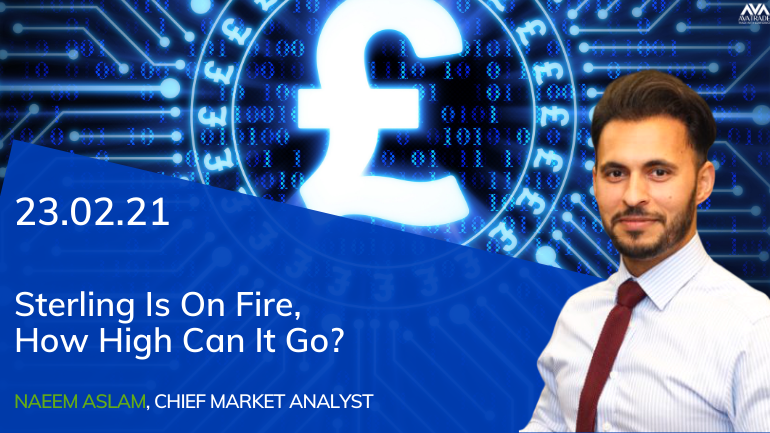 Sterling Is On Fire, How High Can It Go?
