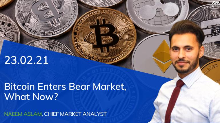 Bitcoin Enters a Bear Market, What Now?