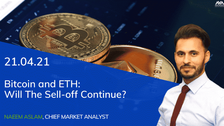 Bitcoin And ETH: Will The Sell-off Continue?