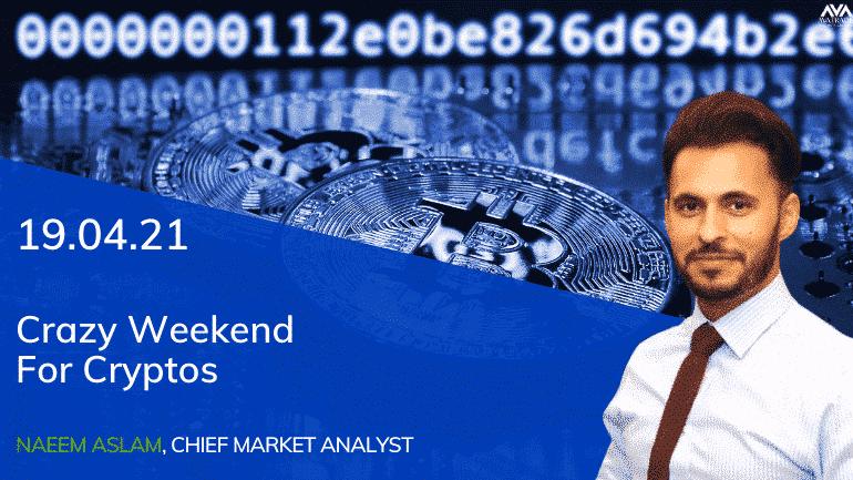 Crazy Weekend For Cryptos