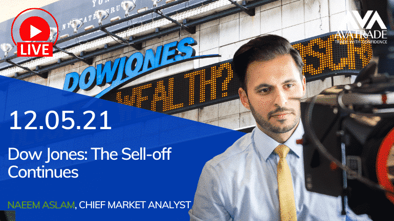 Dow Jones: The Sell-Off Continues