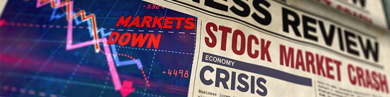 What is a stock market crash?