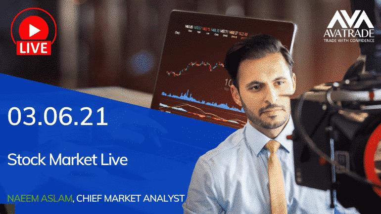 Stock Market Live / June 3, 2021